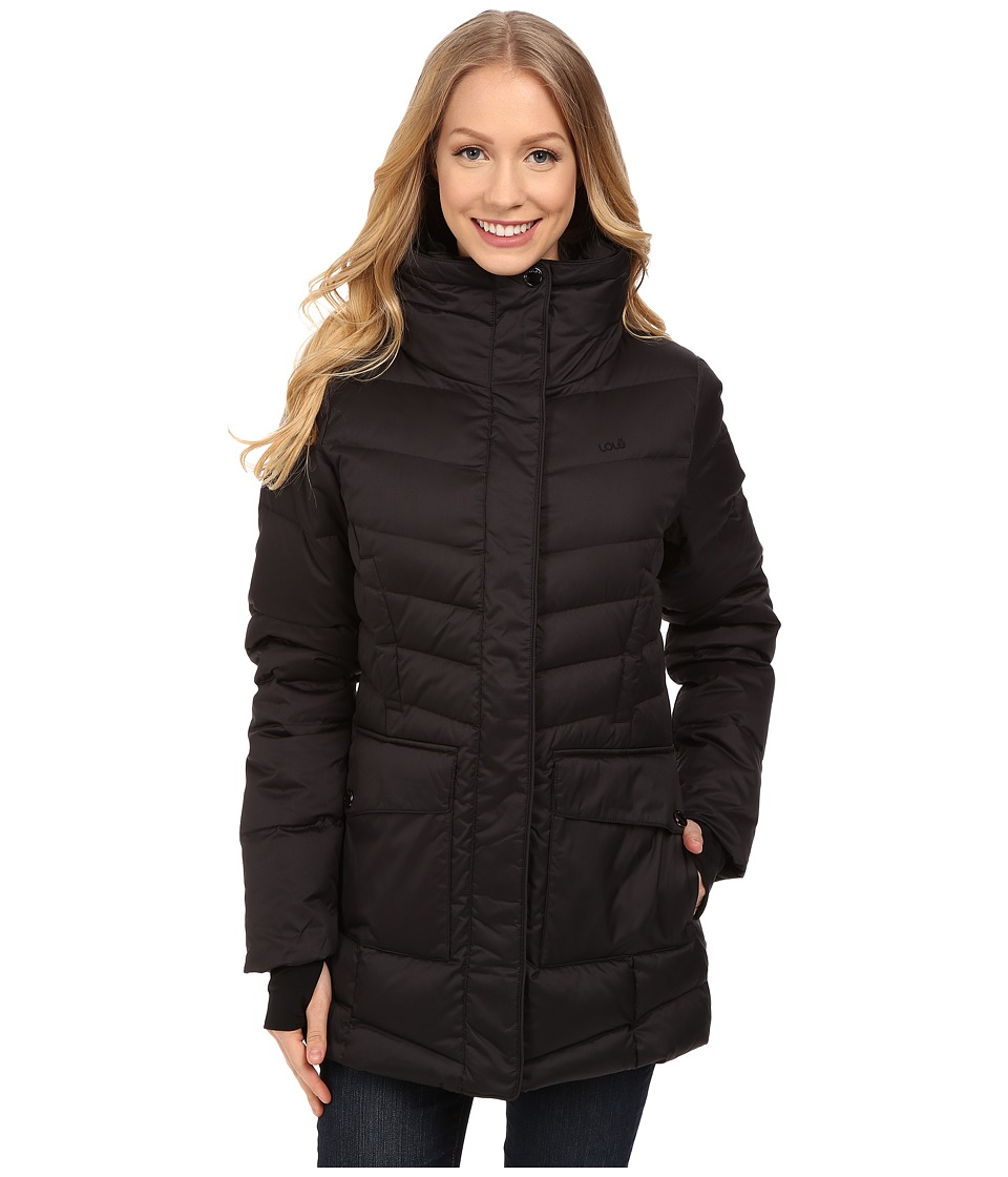 Lole - Nicky Jacket (Black) Women's Coat