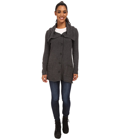 Royal Robbins - Three Season Cardi (Charcoal) Women