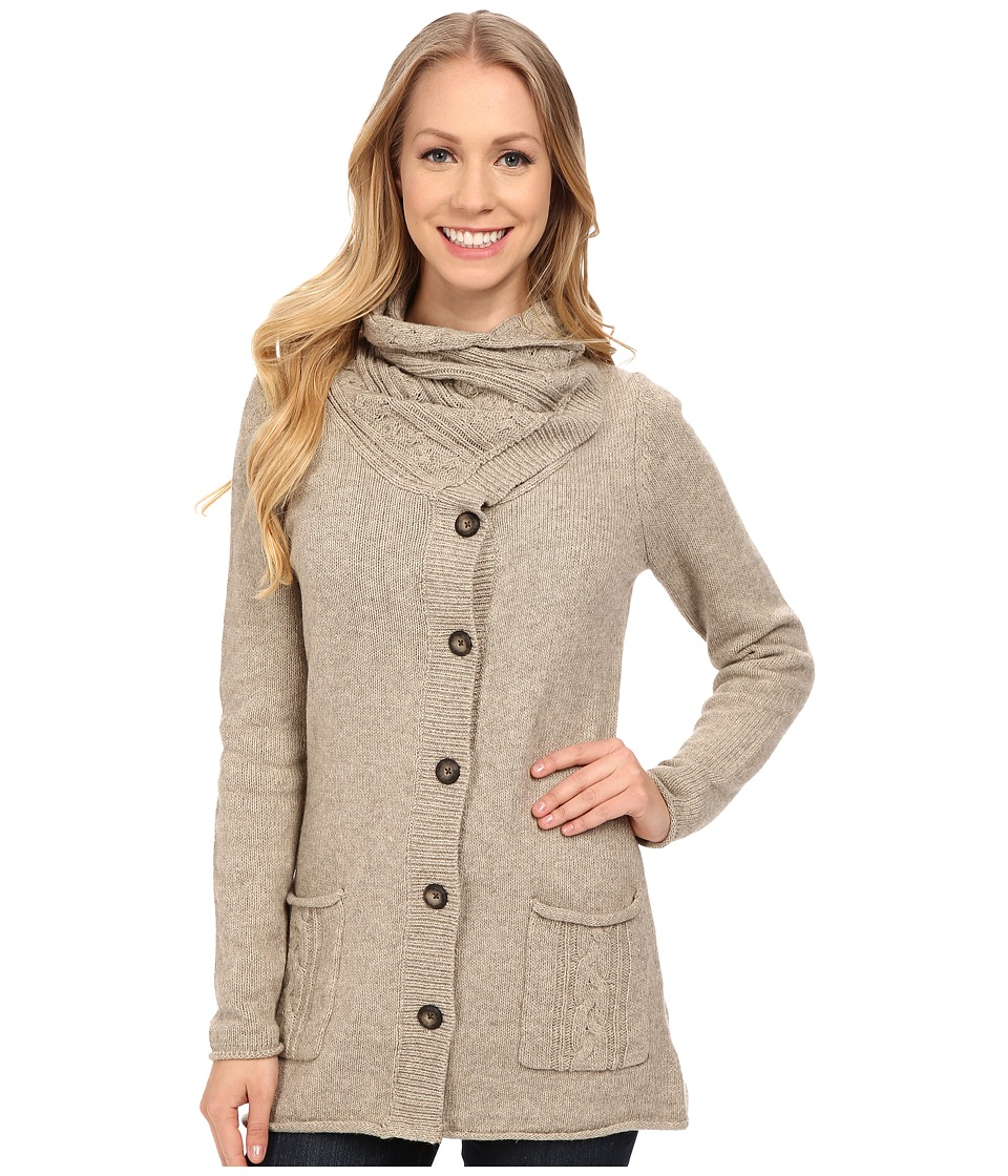 Royal Robbins - Three Season Cardi (Khaki) Women's Sweater