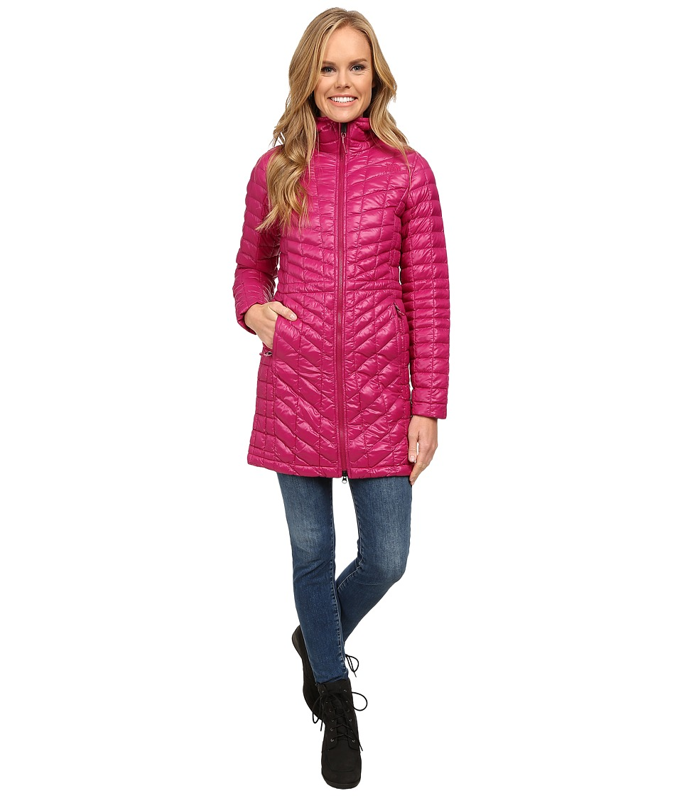 The North Face - ThermoBall Hooded Parka (Dramatic Plum) Women's Coat