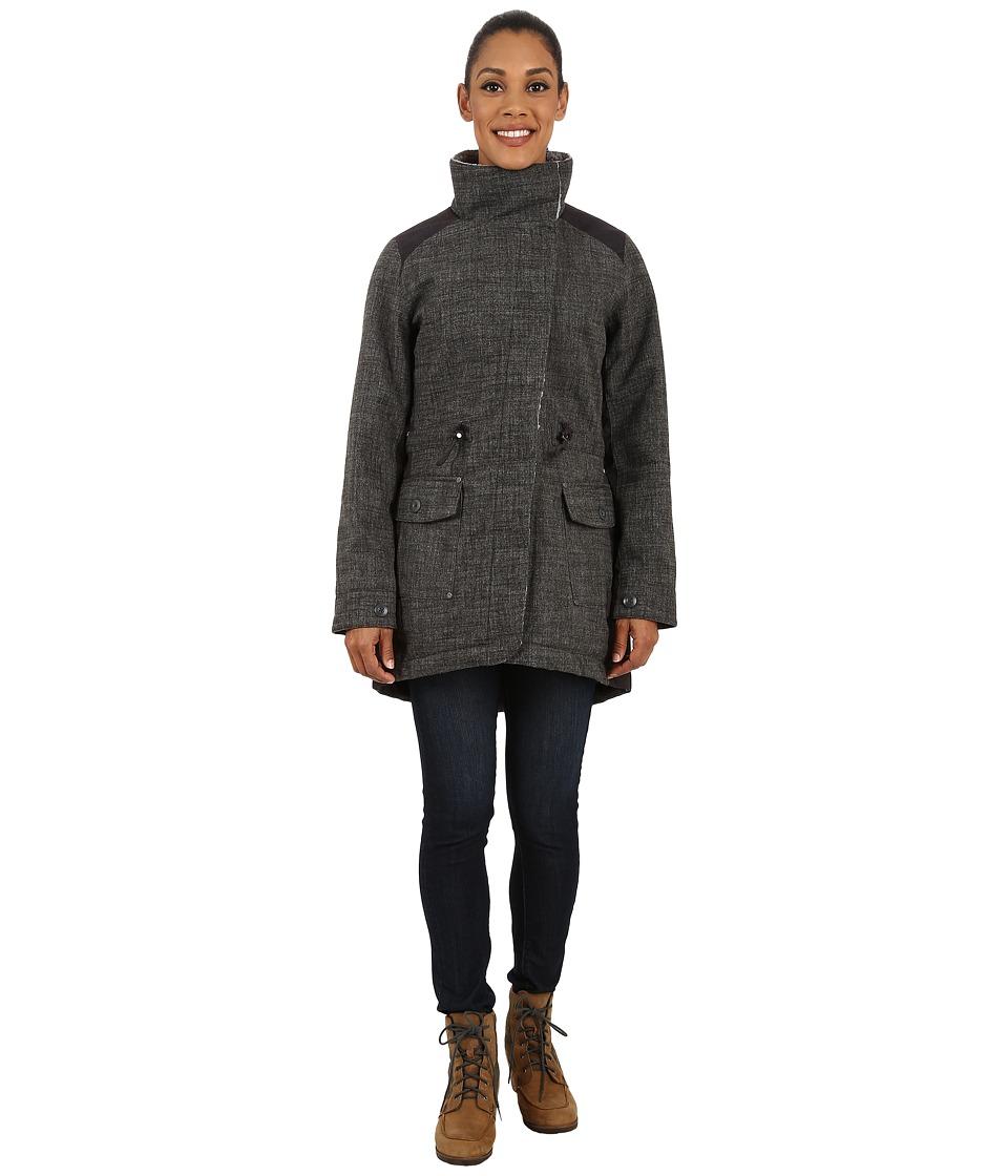 Royal Robbins - Mariposa Parka (Charcoal) Women's Coat