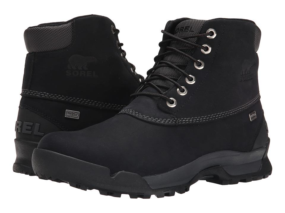 SOREL Paxson 6 Outdry(r) (Black/Shark) Men