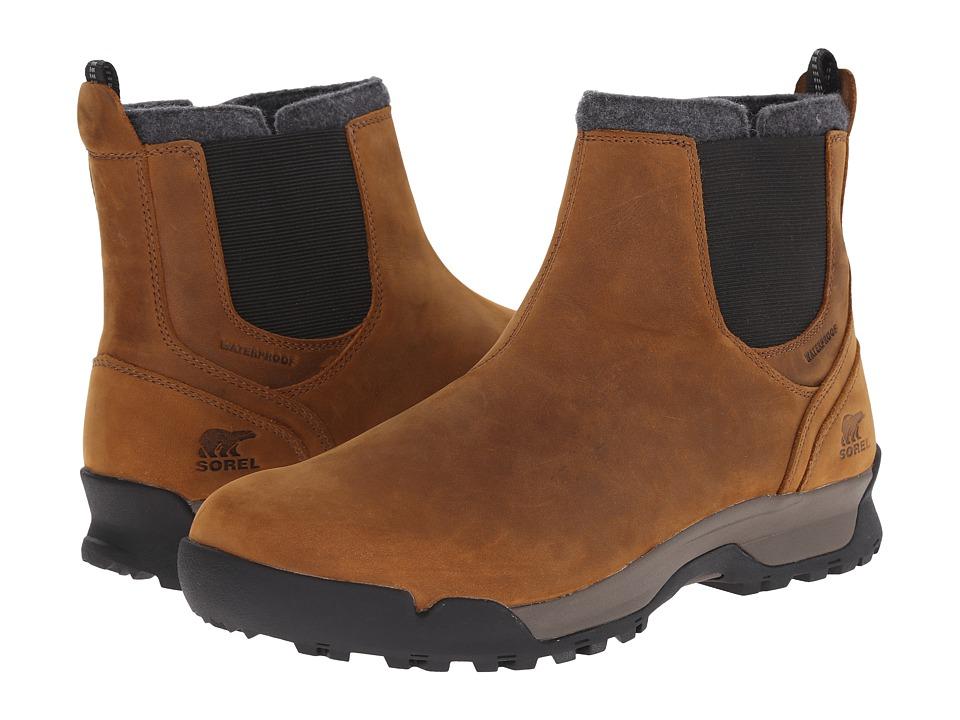 SOREL - Paxson Chukka Waterproof (Elk/Black) Men's Cold Weather Boots