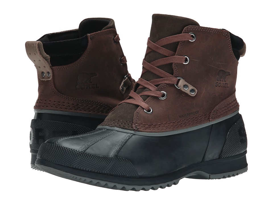 SOREL Ankenytm (Cordovan/Madder Brown) Men