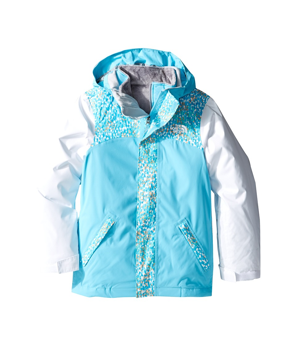 The North Face Kids - Abbit Triclimate Jacket (Little Kids/Big Kids) (Fortuna Blue) Girl's Coat