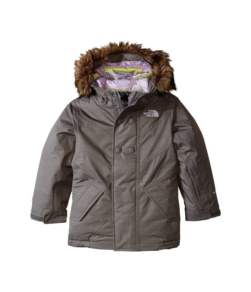 The North Face Kids - Bayley Insulated Jacket (Little Kids/Big Kids) (Heather Grey) Girl's Coat