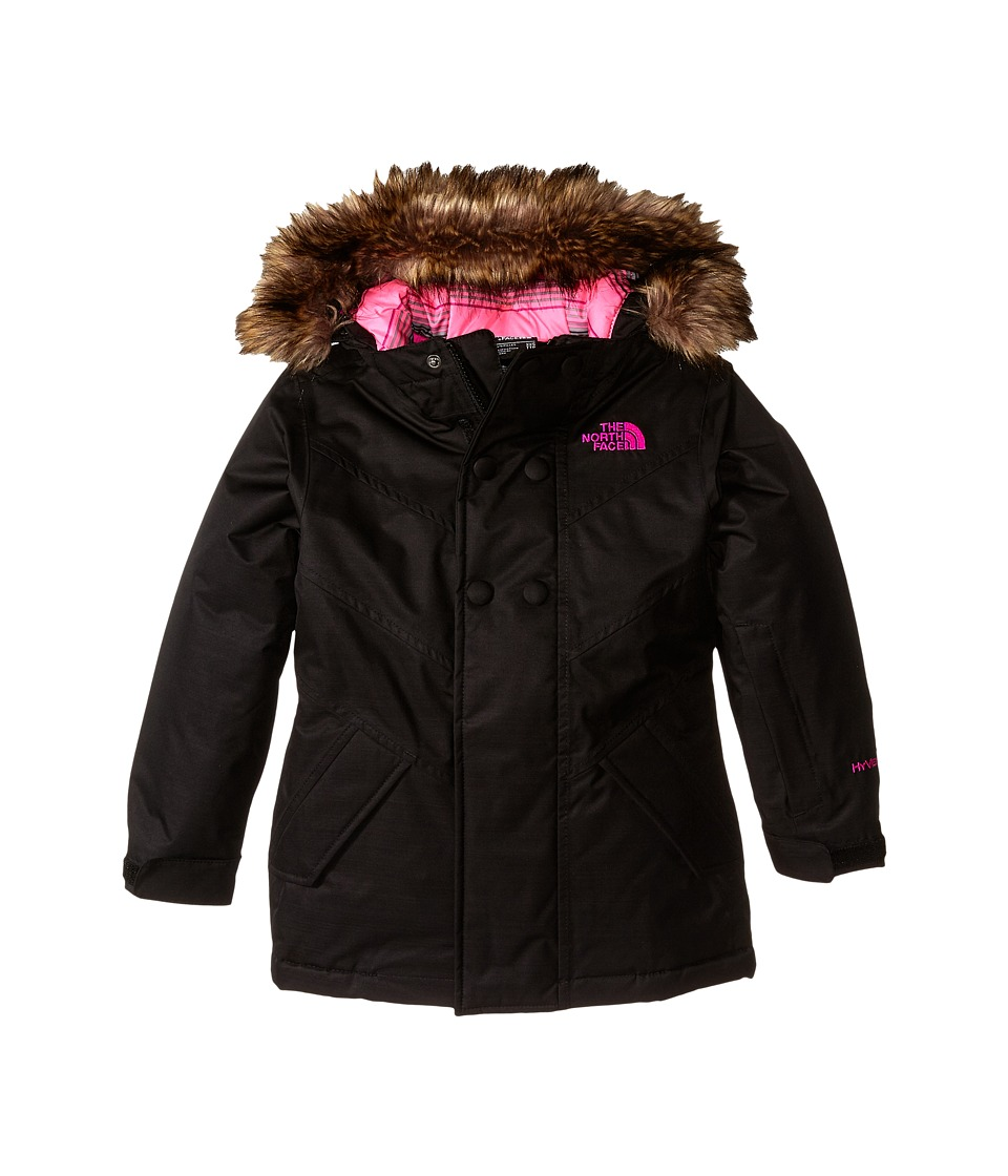 The North Face Kids - Bayley Insulated Jacket (Little Kids/Big Kids) (TNF Black Heather) Girl's Coat