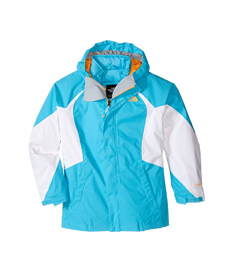 The North Face Kids - Kira Triclimate Jacket (Little Kids/Big Kids) (Fortuna Blue) Girl's Jacket