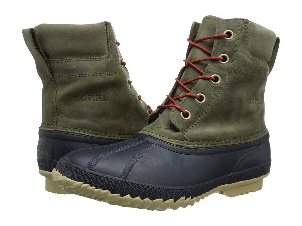 SOREL - Cheyanne Lace Full Grain (Sage/Sanguine) Men's Cold Weather Boots