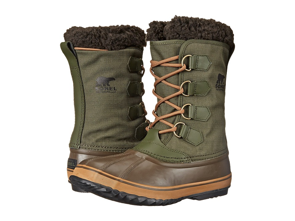 SOREL - 1964 Pac Nylon (Surplus Green/Elk) Men's Shoes