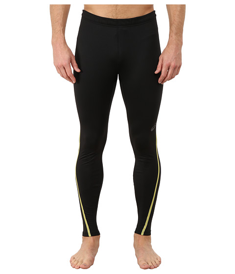 ASICS - Lite-Show Winter Tight (Performance Black/Safety Yellow) Men's Workout