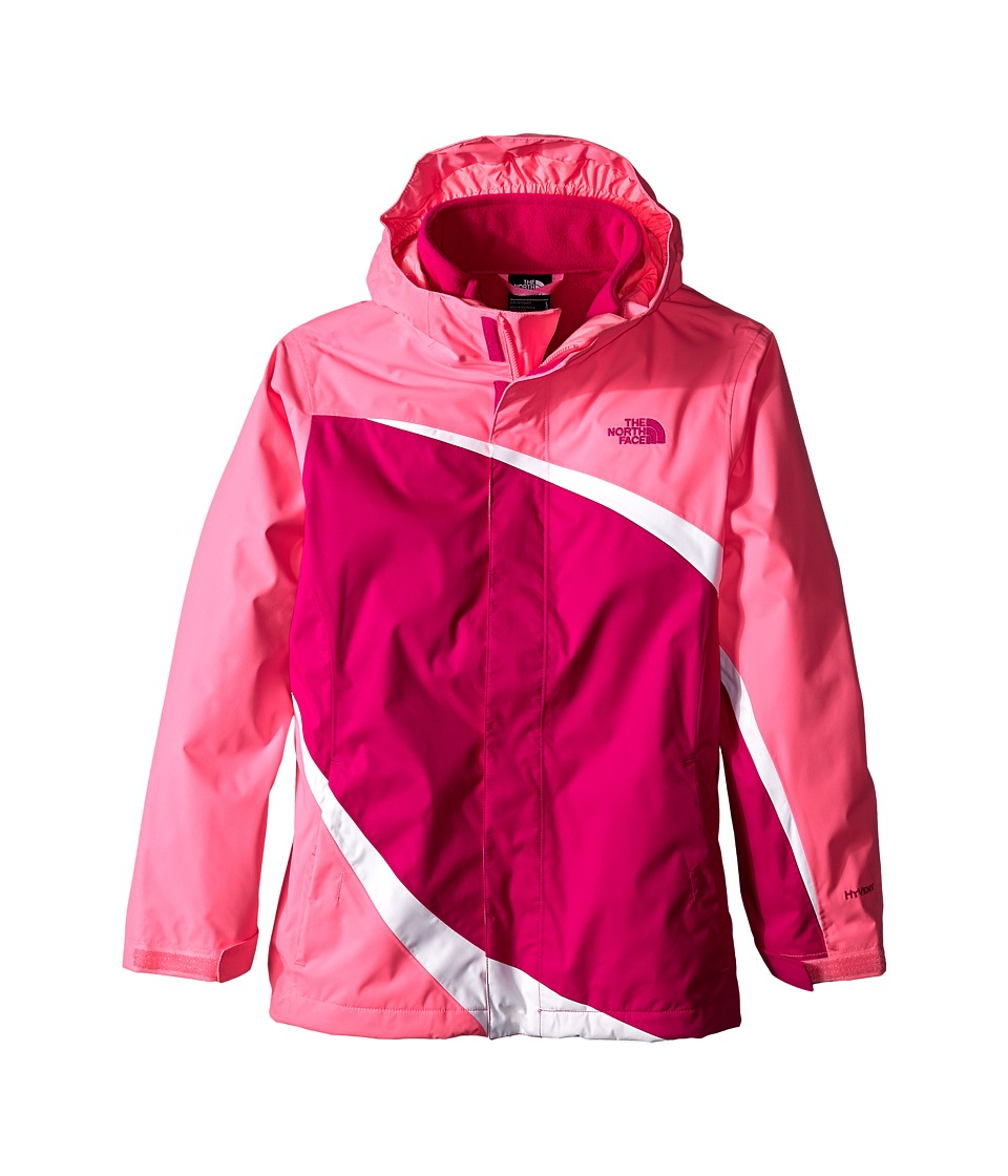 The North Face Kids - Mountain View Triclimate Jacket (Little Kids/Big Kids) (Luminous Pink) Girl