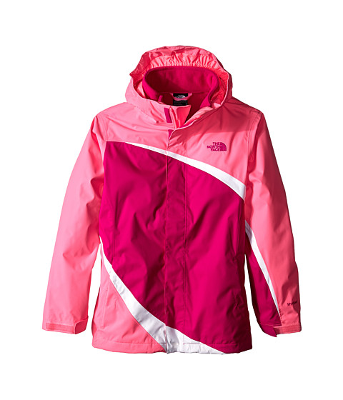 The North Face Kids - Mountain View Triclimate Jacket (Little Kids/Big Kids) (Luminous Pink) Girl's Jacket