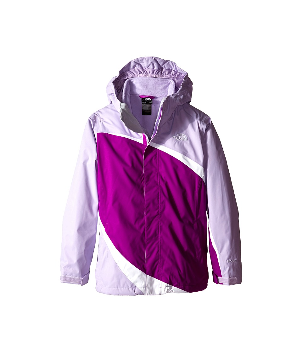 The North Face Kids - Mountain View Triclimate Jacket (Little Kids/Big Kids) (Magic Magenta) Girl's Jacket