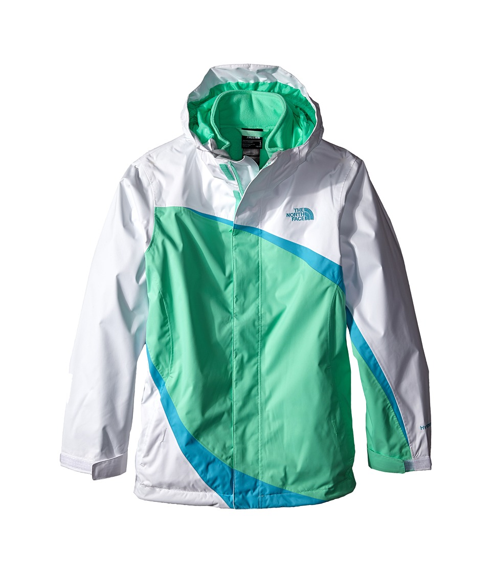The North Face Kids - Mountain View Triclimate Jacket (Little Kids/Big Kids) (Surf Green) Girl's Jacket