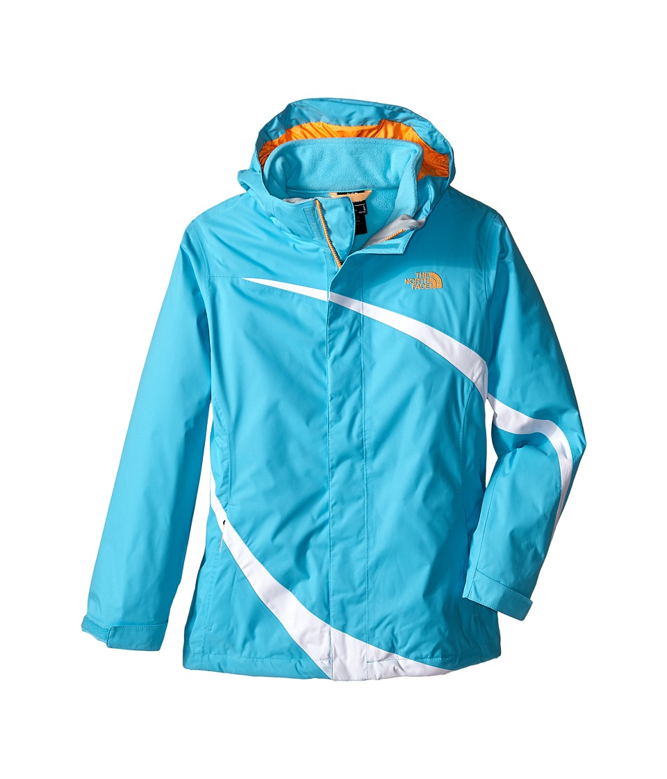 The North Face Kids - Mountain View Triclimate Jacket (Little Kids/Big Kids) (Fortuna Blue) Girl