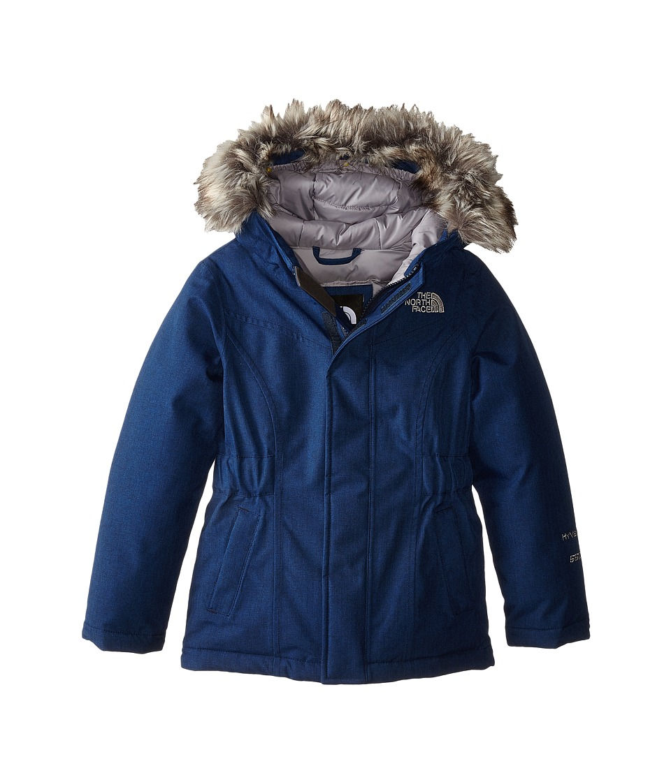 The North Face Kids - Greenland Down Parka (Little Kids/Big Kids) (Cosmic Blue) Girl's Coat