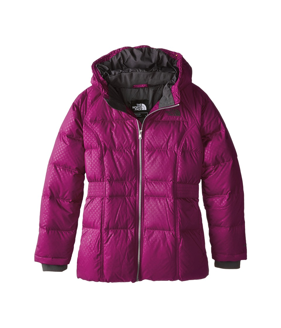 The North Face Kids - Ileana Down Parka (Little Kids/Big Kids) (Dramatic Plum) Girl