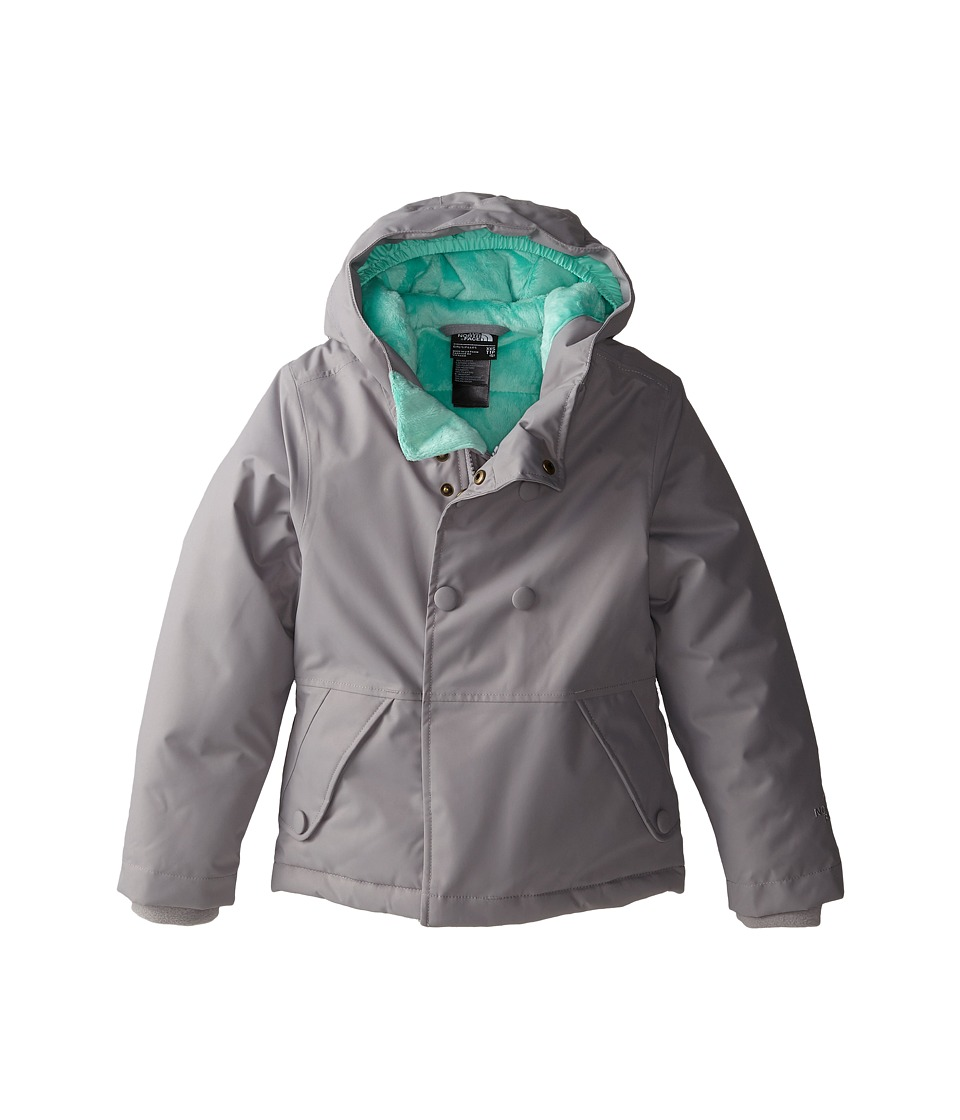 The North Face Kids - Harmonee Peacoat Jacket (Little Kids/Big Kids) (Metallic Silver) Girl's Coat