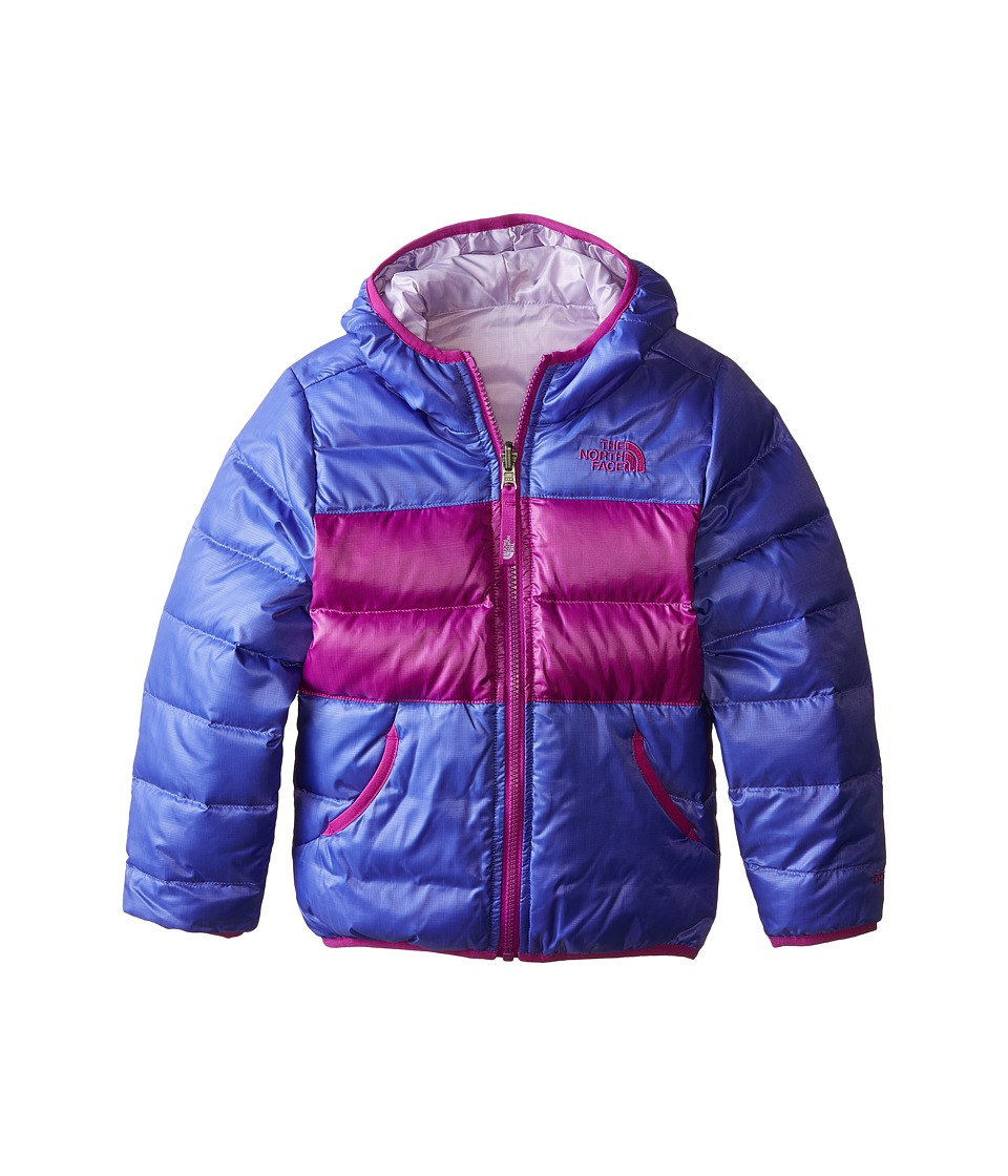 The North Face Kids - Reversible Moondoggy Jacket (Little Kids/Big Kids) (Starry Purple) Girl's Coat