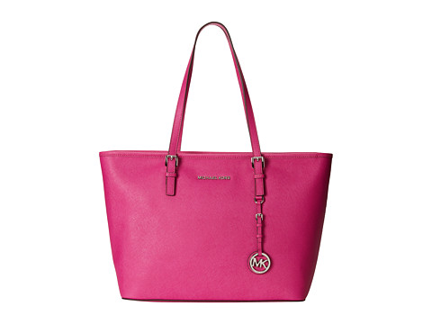 MICHAEL Michael Kors - Jet Set Travel TZ Tote (Fuchsia 1) Tote Handbags