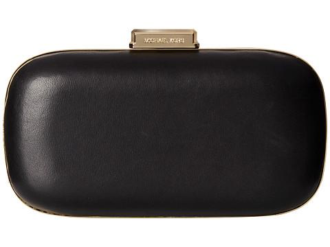 MICHAEL Michael Kors - Elsie Dome Clutch (Black) Clutch Handbags