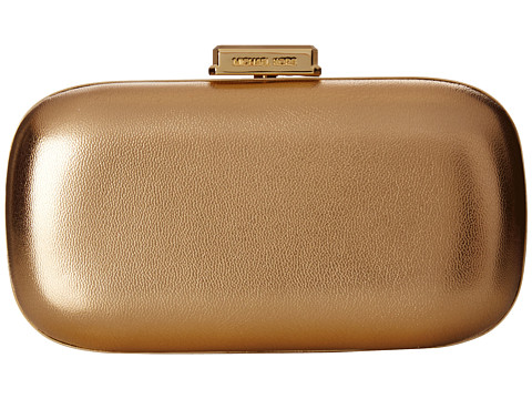 MICHAEL Michael Kors - Elsie Dome Clutch (Pale Gold) Clutch Handbags