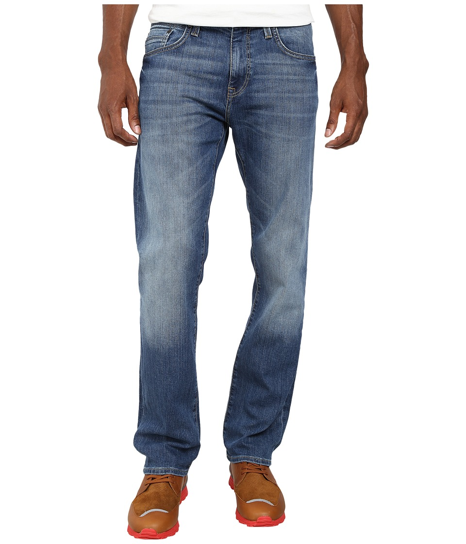 Mavi Jeans - Zach Regular Rise Straight Leg in Mid Yaletown Vintage (Mid Yaletown Vintage) Men's Jeans
