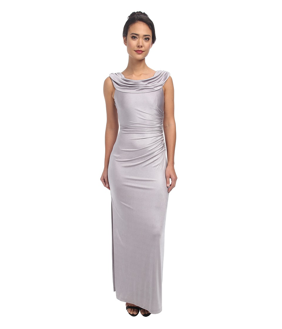 Tahari by ASL - Juliana - P Dress (Silver) Women's Dress