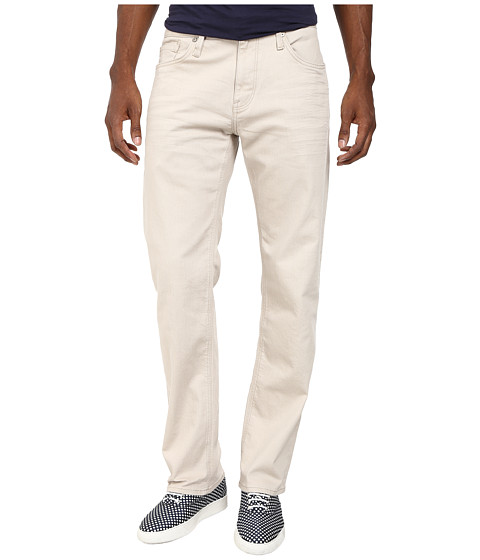 Mavi Jeans - Zach Regular Rise Straight Leg in Stone Soho Comfort (Stone Soho Comfort) Men