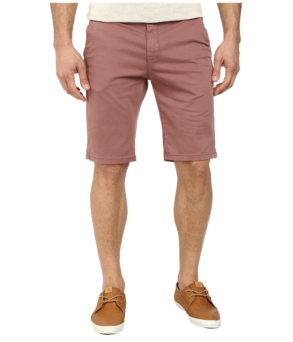 Mavi Jeans - Jacob Midrise Chino Shorts (Brick Twill) Men