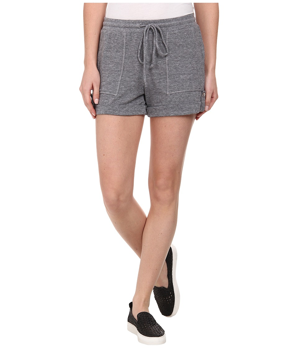 C&C California - Triblend Tab Shorts (Heather Grey) Women's Shorts