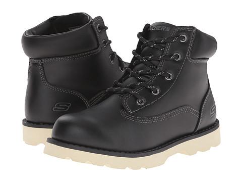 SKECHERS KIDS - Bowland 93633L (Little Kid/Big Kid) (Black) Boy's Shoes