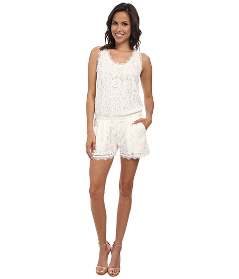 Joie - Jardeene Rompers (Porcelain) Women's Jumpsuit & Rompers One Piece