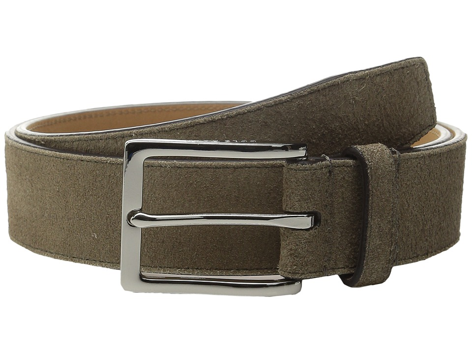 Cole Haan - 32mm Suede (Tan) Men's Belts