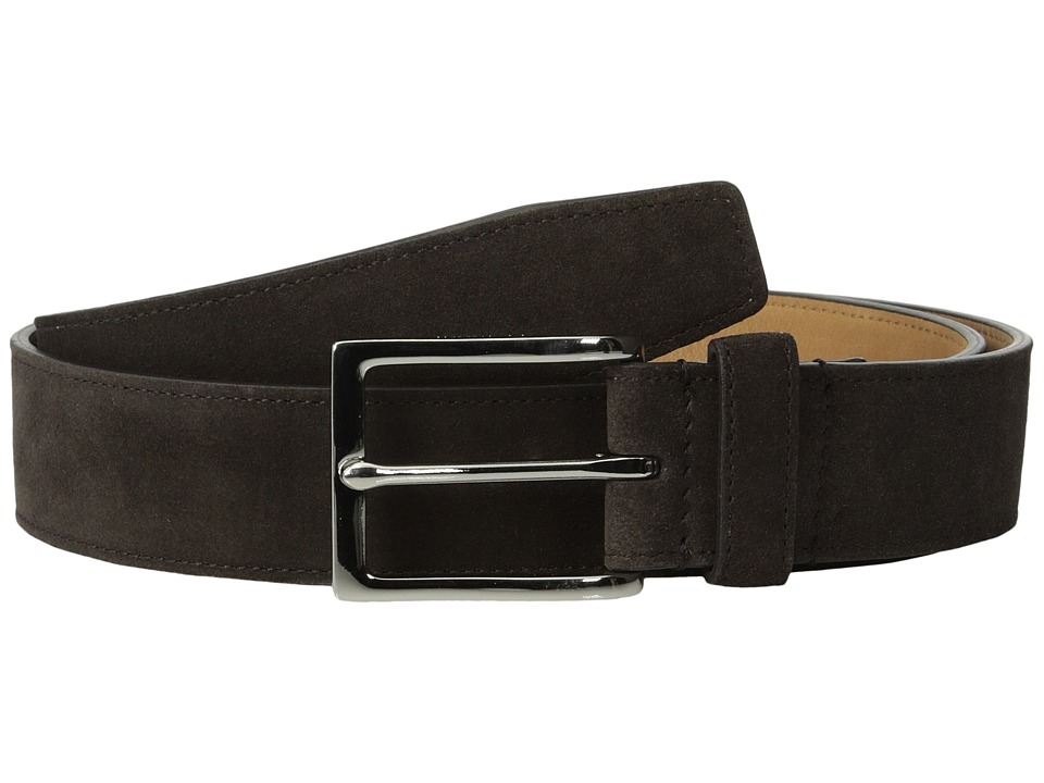 Cole Haan - 32mm Suede (Chocolate) Men's Belts