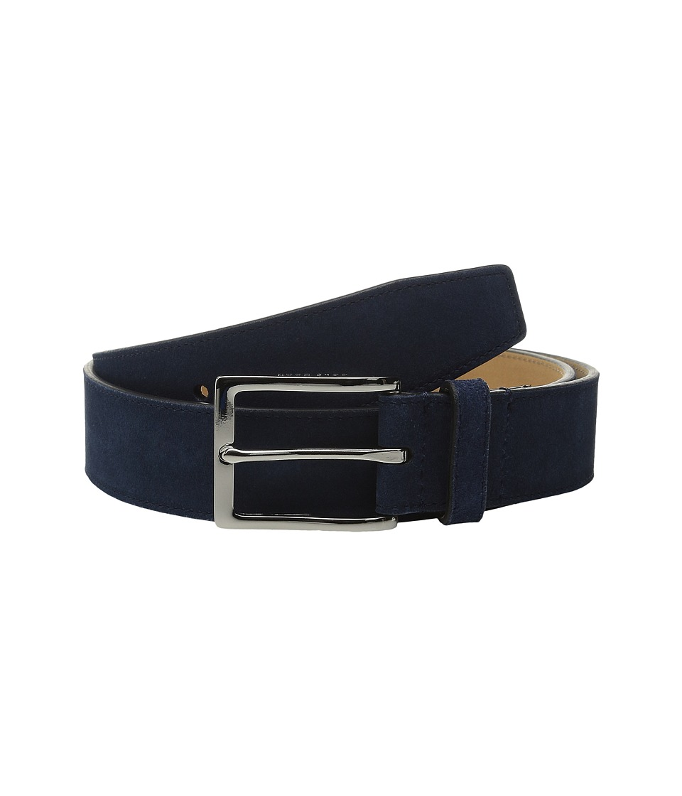 Cole Haan - 32mm Suede (Blue) Men's Belts