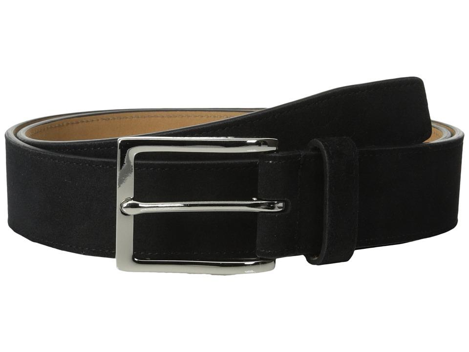 Cole Haan - 32mm Suede (Black) Men's Belts