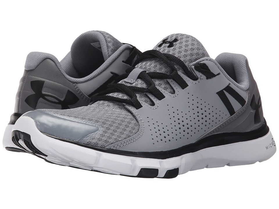 Under Armour - UA Micro Gtm Limitless TR (Steel/Graphite/Black) Women's Cross Training Shoes