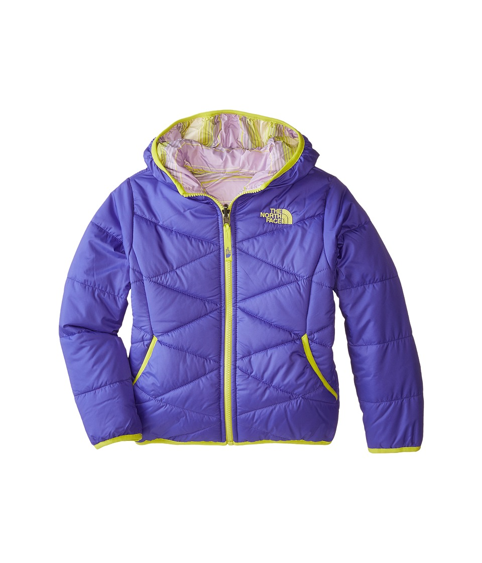 The North Face Kids - Reversible Perrito Jacket (Little Kids/Big Kids) (Starry Purple) Girl's Coat