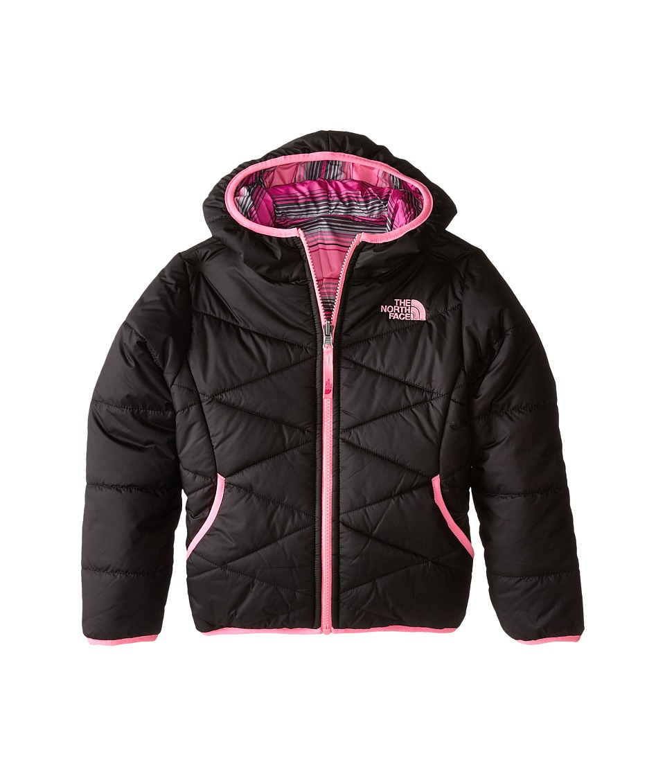 The North Face Kids - Reversible Perrito Jacket (Little Kids/Big Kids) (TNF Black) Girl's Coat