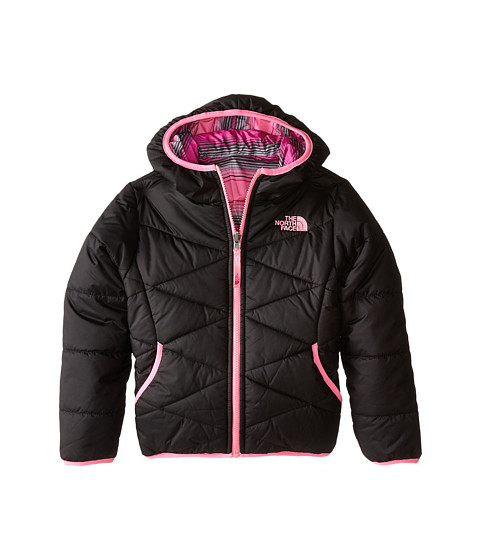 The North Face Kids - Reversible Perrito Jacket (Little Kids/Big Kids) (TNF Black) Girl