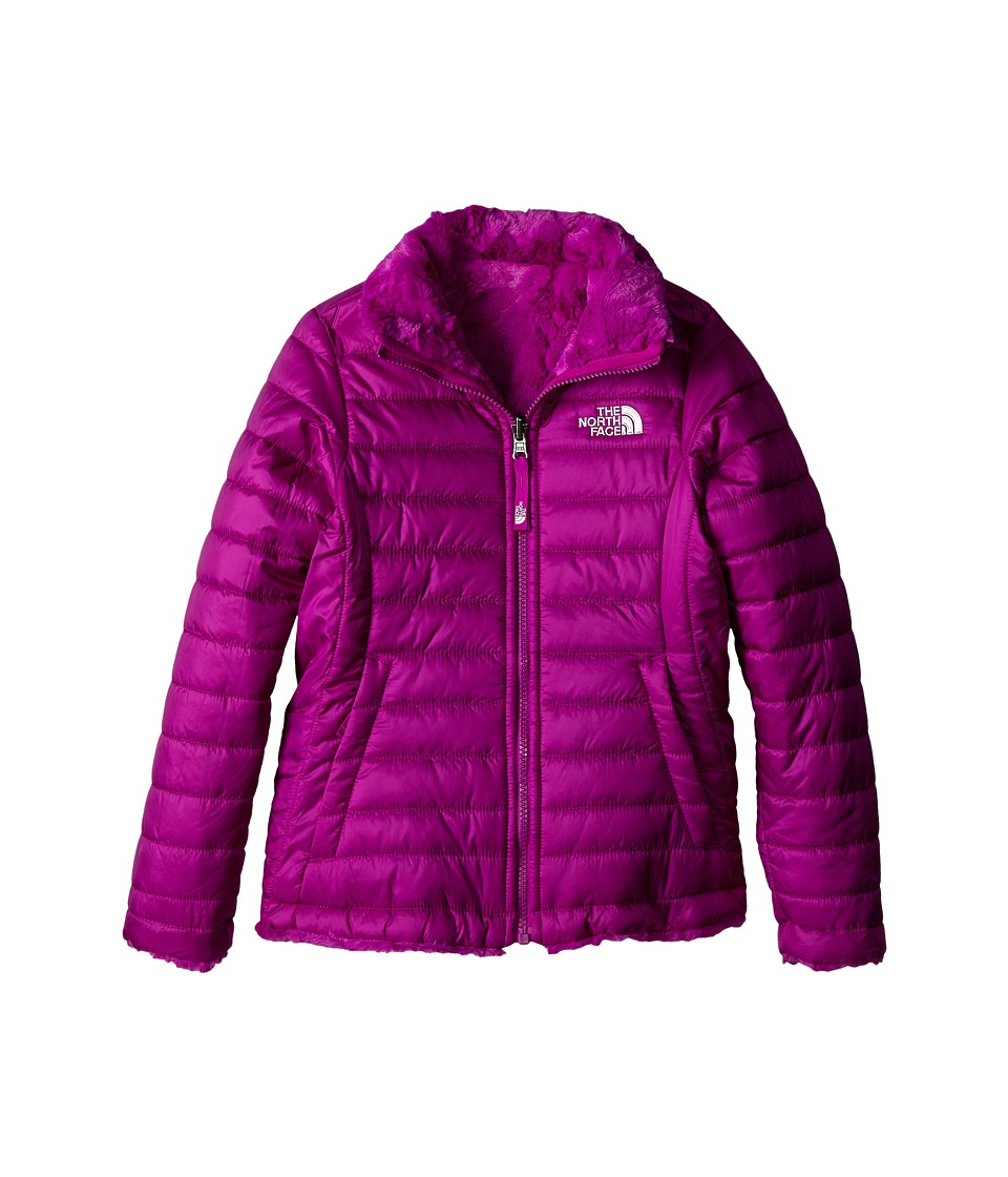 The North Face Kids - Reversible Mossbud Swirl Jacket (Little Kids/Big Kids) (Magic Magenta) Girl's Coat