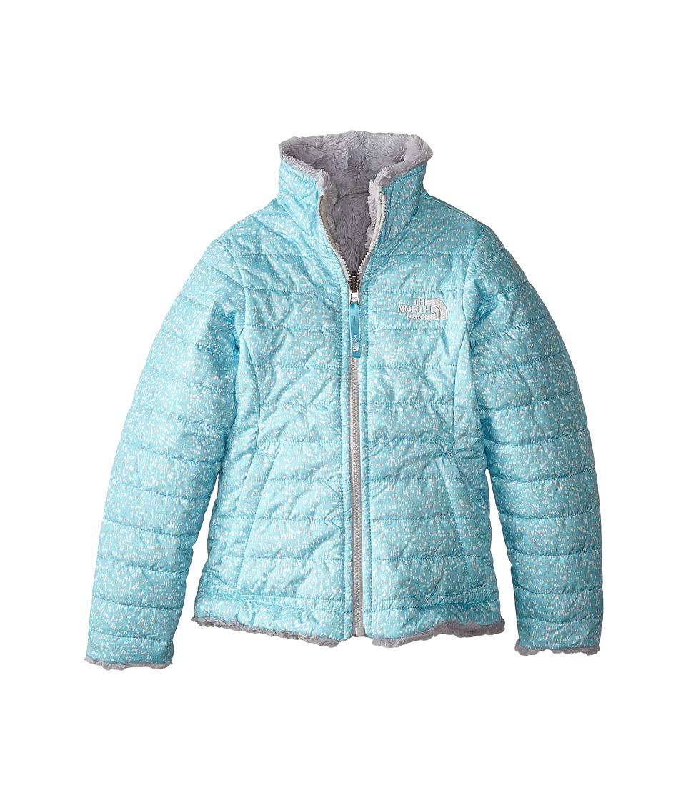 The North Face Kids - Reversible Mossbud Swirl Jacket (Little Kids/Big Kids) (Fortuna Blue Scatter Print) Girl's Coat