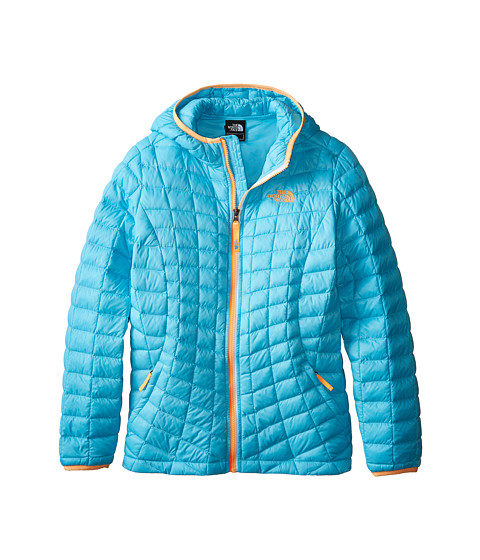 The North Face Kids - ThermoBall Hoodie (Little Kids/Big Kids) (Fortuna Blue) Girl's Coat