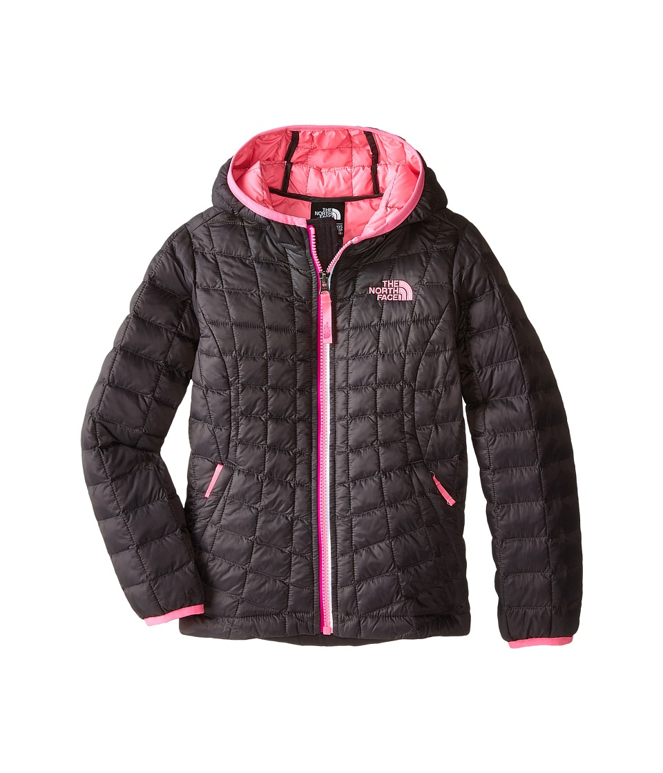 The North Face Kids - ThermoBall Hoodie (Little Kids/Big Kids) (Graphite Grey) Girl's Coat