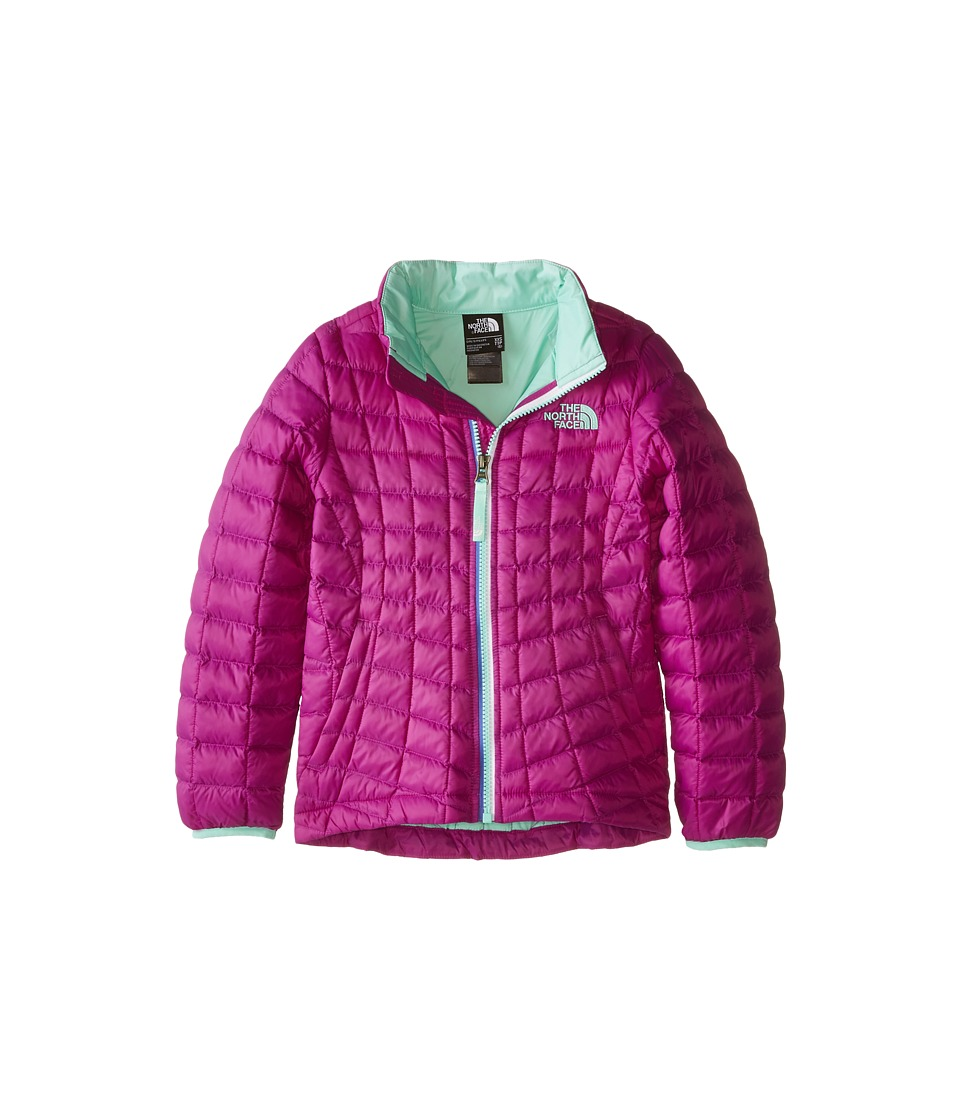 The North Face Kids Thermoballtm Full Zip Jacket (Little Kids/Big Kids) (Magic Magenta) Girl