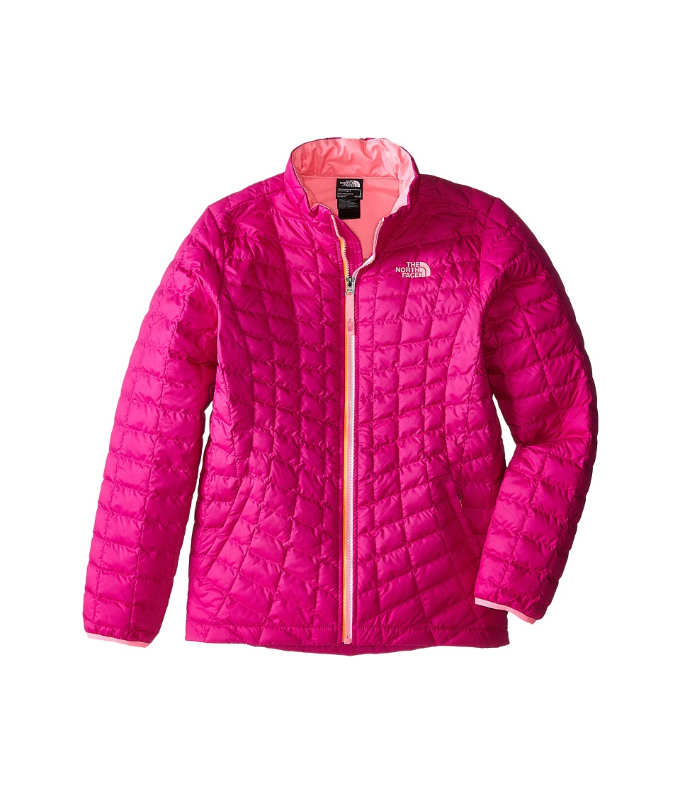 The North Face Kids Thermoballtm Full Zip Jacket (Little Kids/Big Kids) (Luminous Pink) Girl