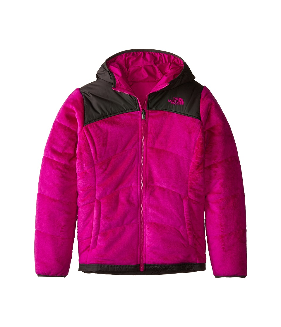 The North Face Kids - Reversible Perseus Jacket (Little Kids/Big Kids) (Luminous Pink) Girl
