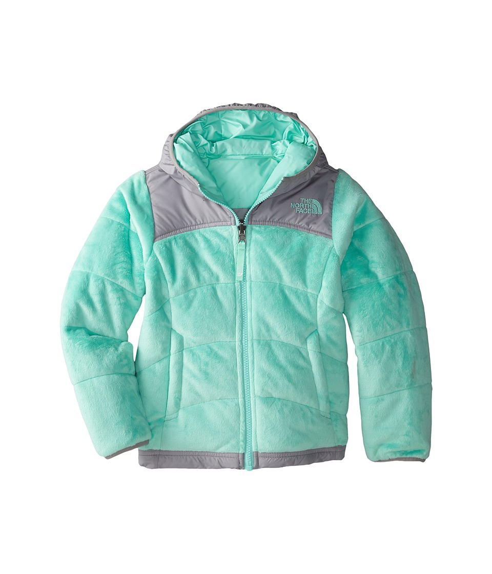 The North Face Kids - Reversible Perseus Jacket (Little Kids/Big Kids) (Surf Green) Girl